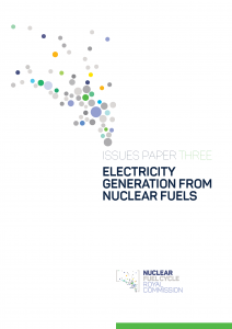 Electricity Generation from Nuclear Fuels